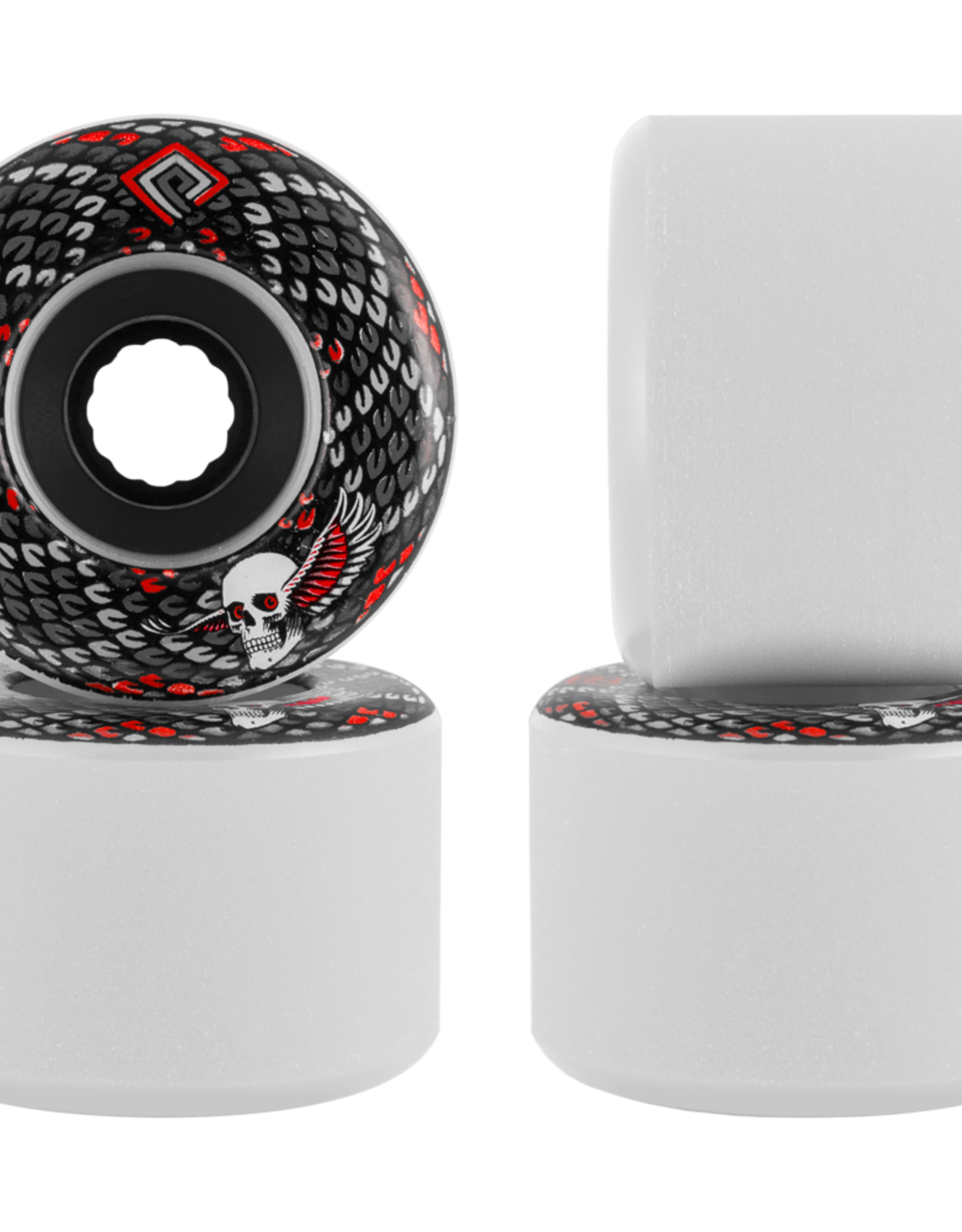 POWELL POWELL SNAKES WHEELS 69MM 78A WHITE