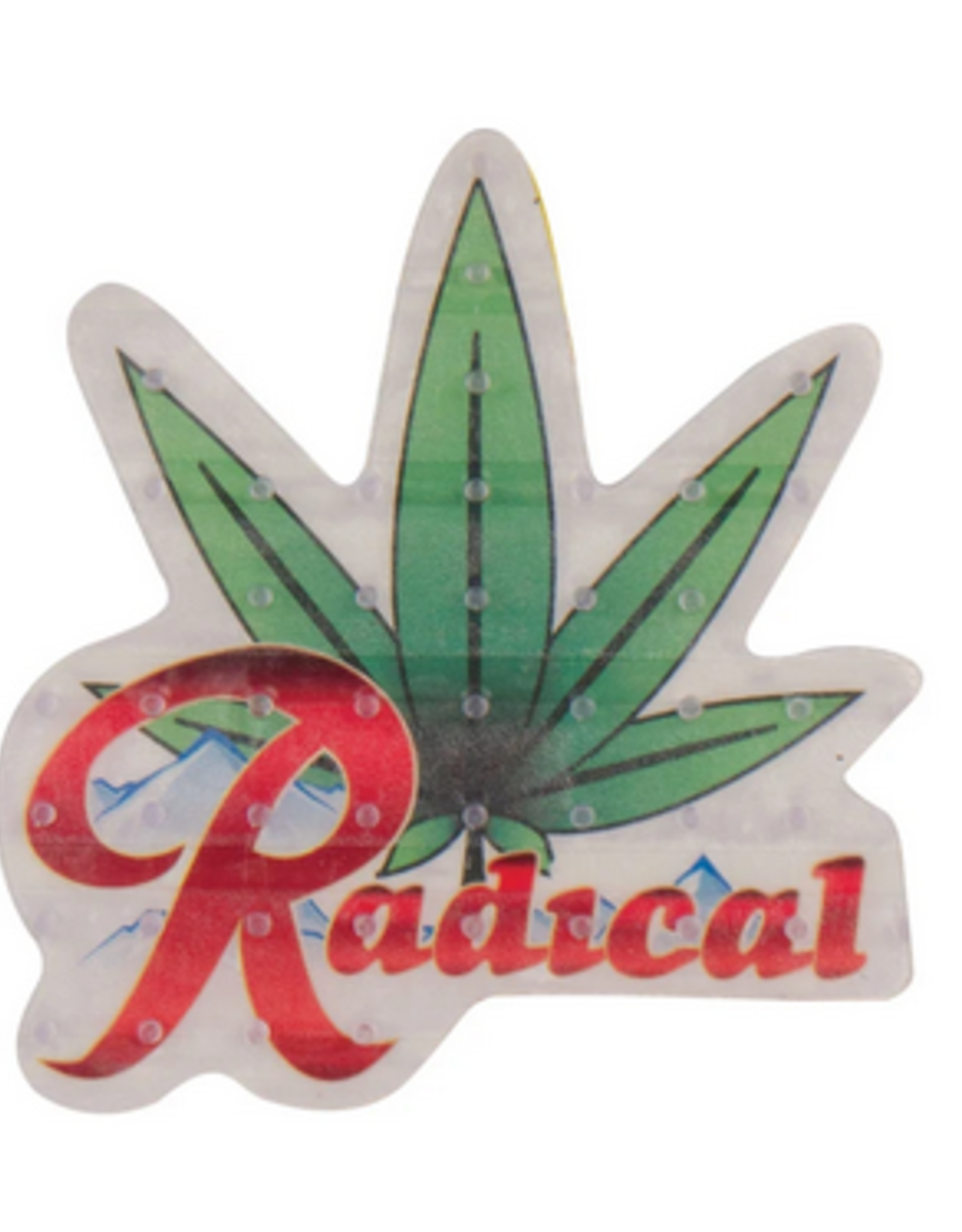 ONE BALL JAY ONE BALL JAY RADICAL 420 WEED TRACTION STOMP PAD