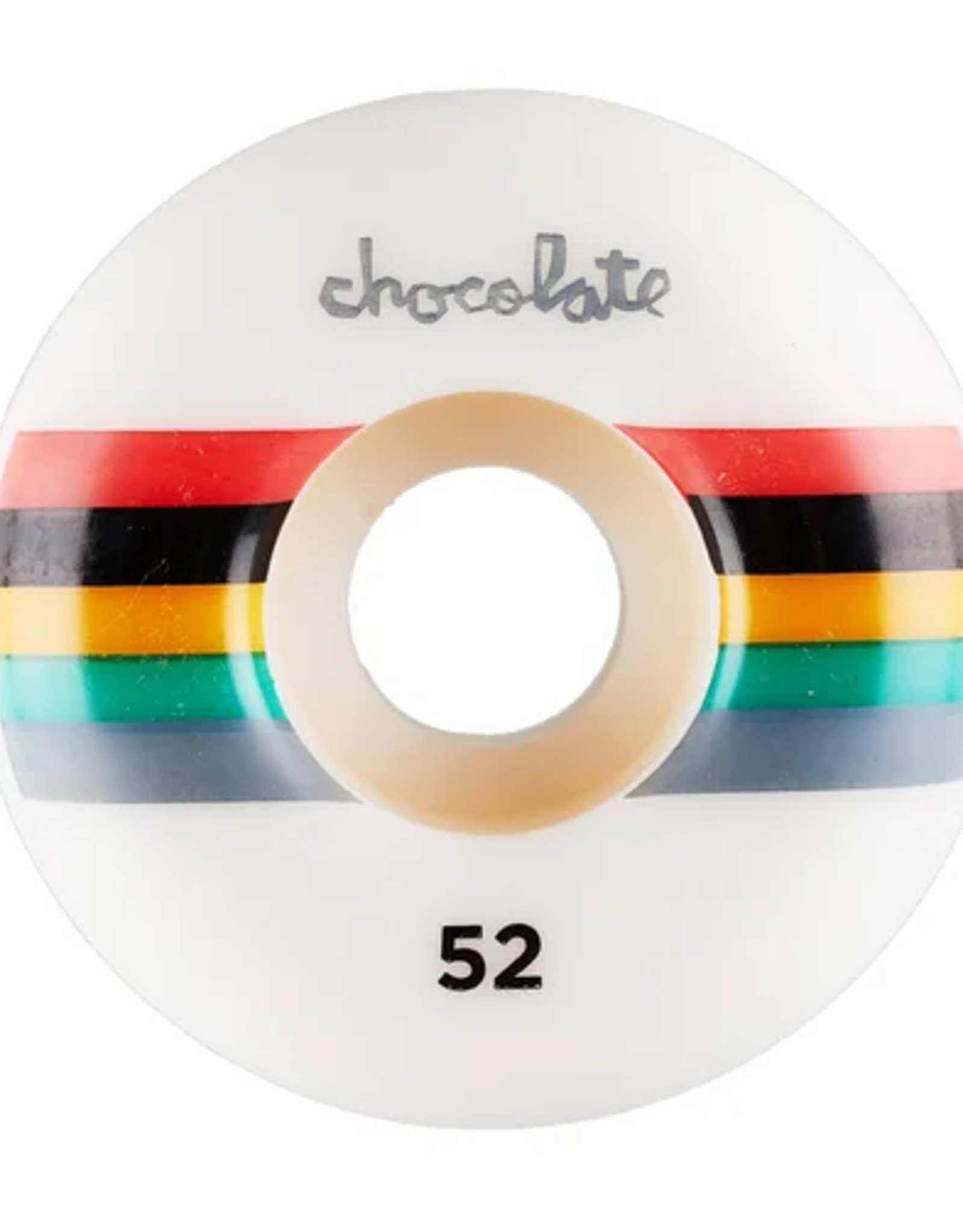CHOCOLATE CHOCOLATE 50MM LONG CHUNK STAPLE WHEELS