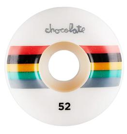 CHOCOLATE CHOCOLATE 50MM LONG CHUNK STAPLE WHEELS