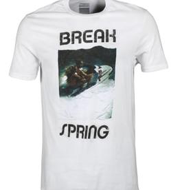SPRING BREAK SPRING BREAK TWIN TEE SHIRT WHITE
