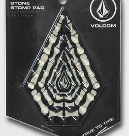 VOLCOM VOLCOM STONE STOMP PAD BLACK COMBO BONES