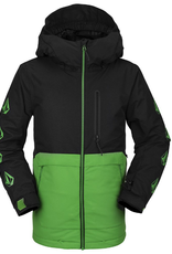 VOLCOM VOLCOM 2021 HOLBECK INS JACKET GREEN YOUTH