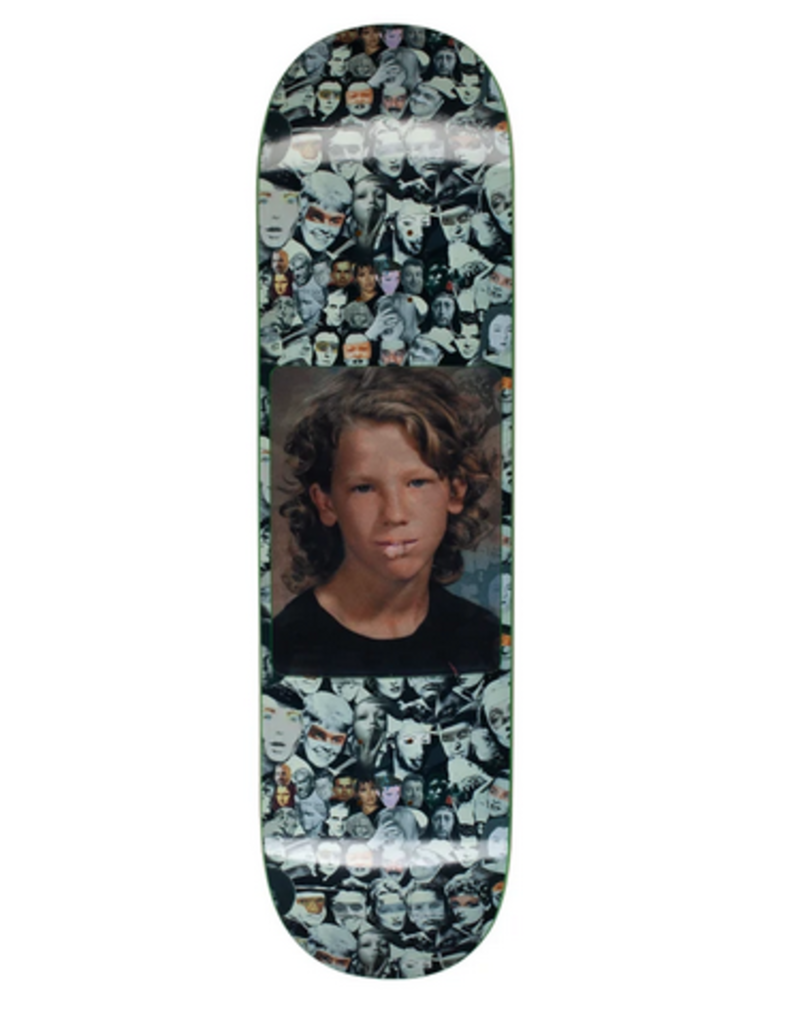 "FUCKING AWESOME FA 8.5"" DILL HEAD COLLAGE HOLOGRAM DECK"