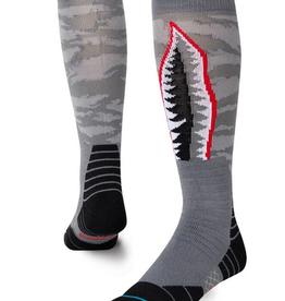 STANCE STANCE WARBIRD SNOW SOCK MENS LARGE GREY