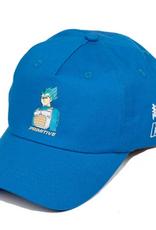 PRIMITIVE PRIMITIVE VEGETA DRAGONBALL Z  STRAPBACK HAT BLUE