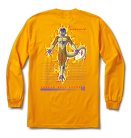 PRIMITIVE PRIMITIVE GOLDEN FRIEZA L/S TEE YELLOW
