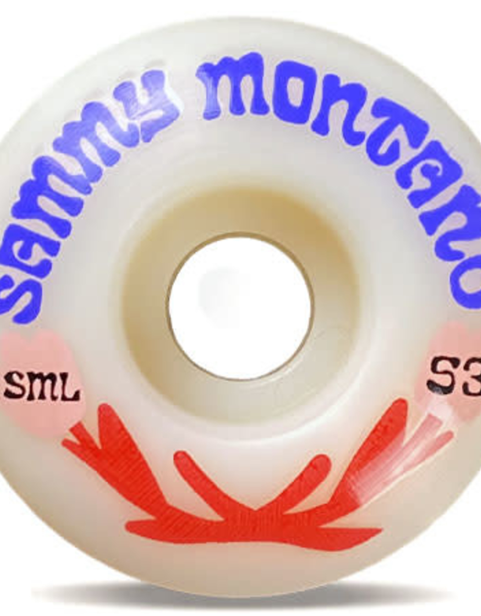 SML SML 53MM SAMMY MONTANO 53MM OG WIDE 99A THE LOVE SERIES WHEELS