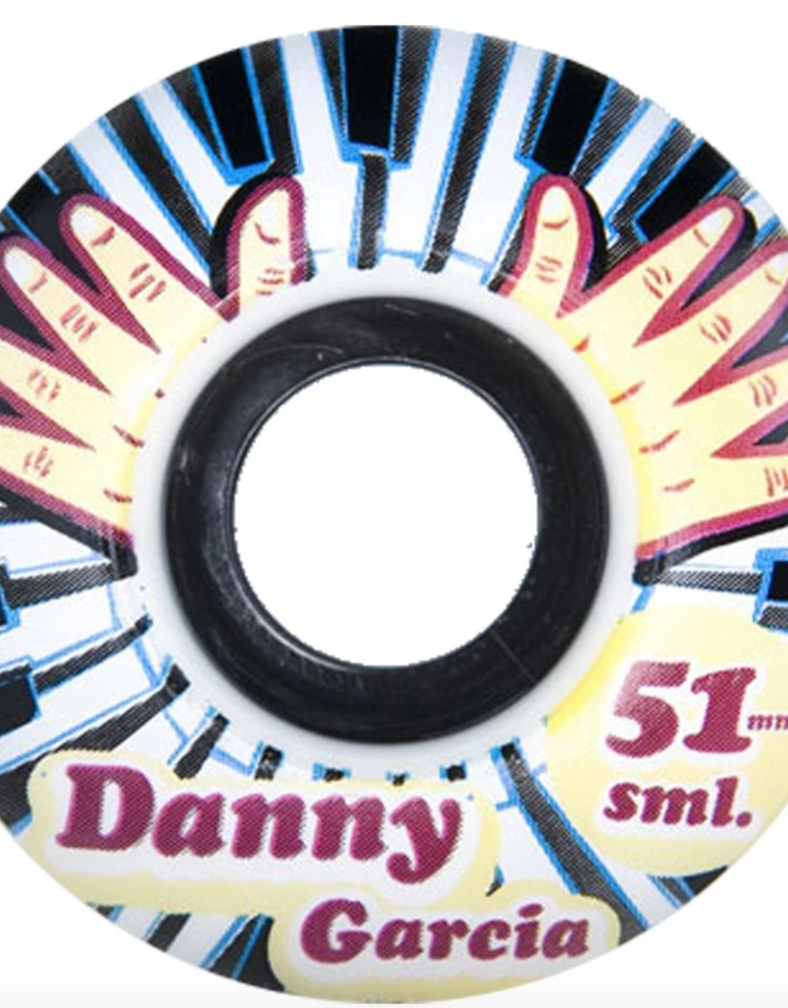SML SML 51MM DANNY GARCIA PIANO 99A THE LOVE SERIES WHEELS