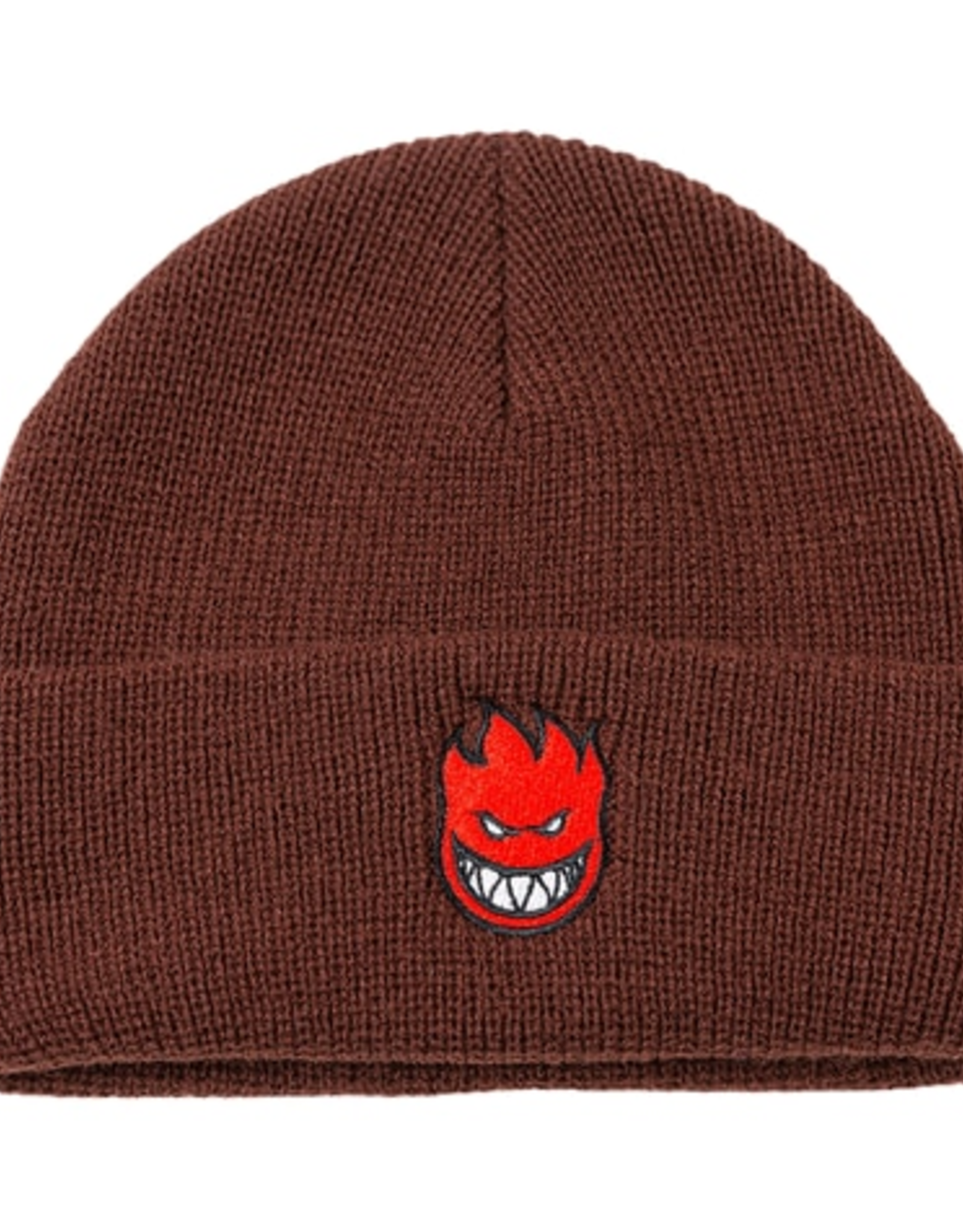 SPITFIRE SPITFIRE CUFF BIGHEAD BEANIE DARK RED BROWN