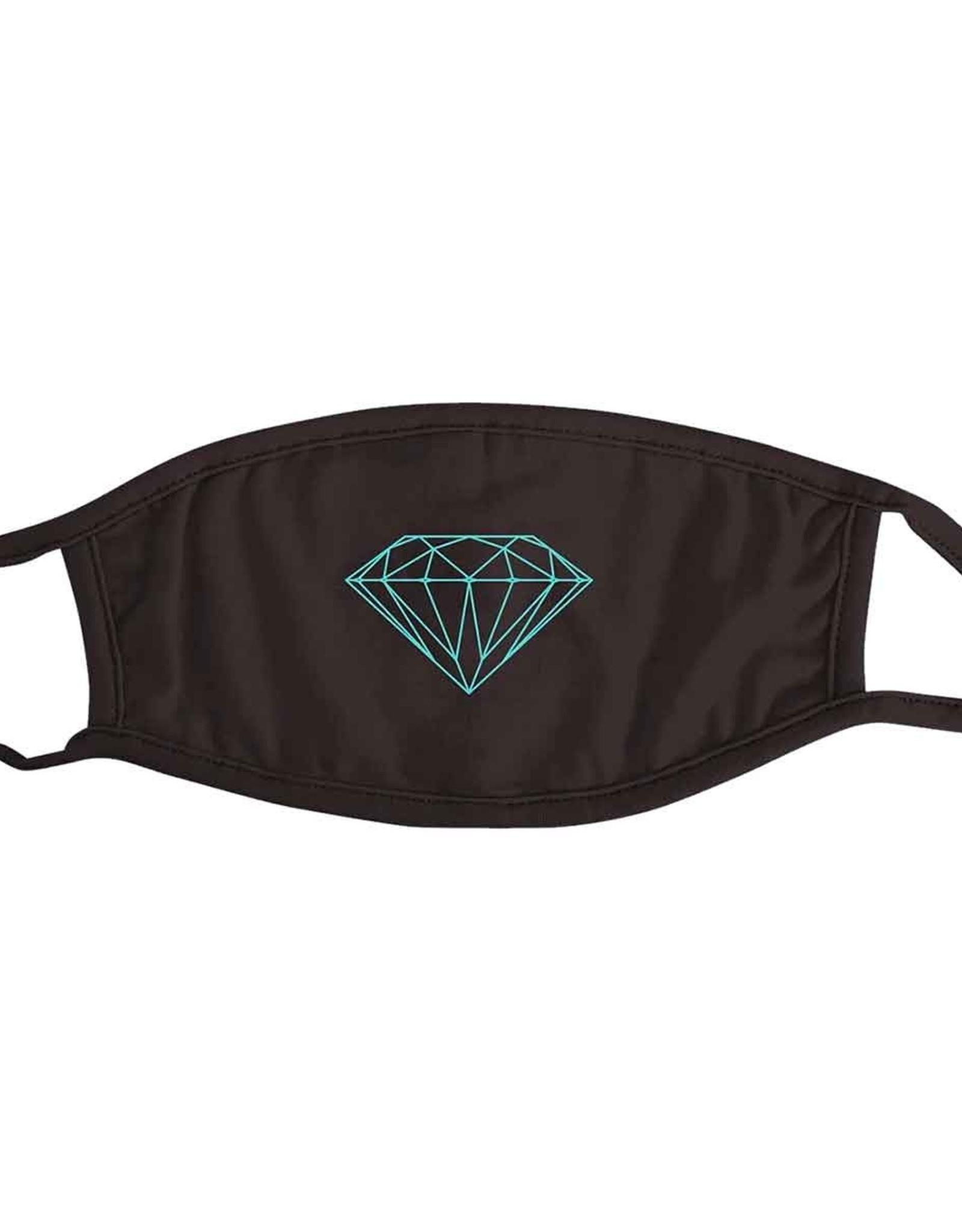 DIAMOND DIAMOND BRILLIANT FACE MASK BLACK