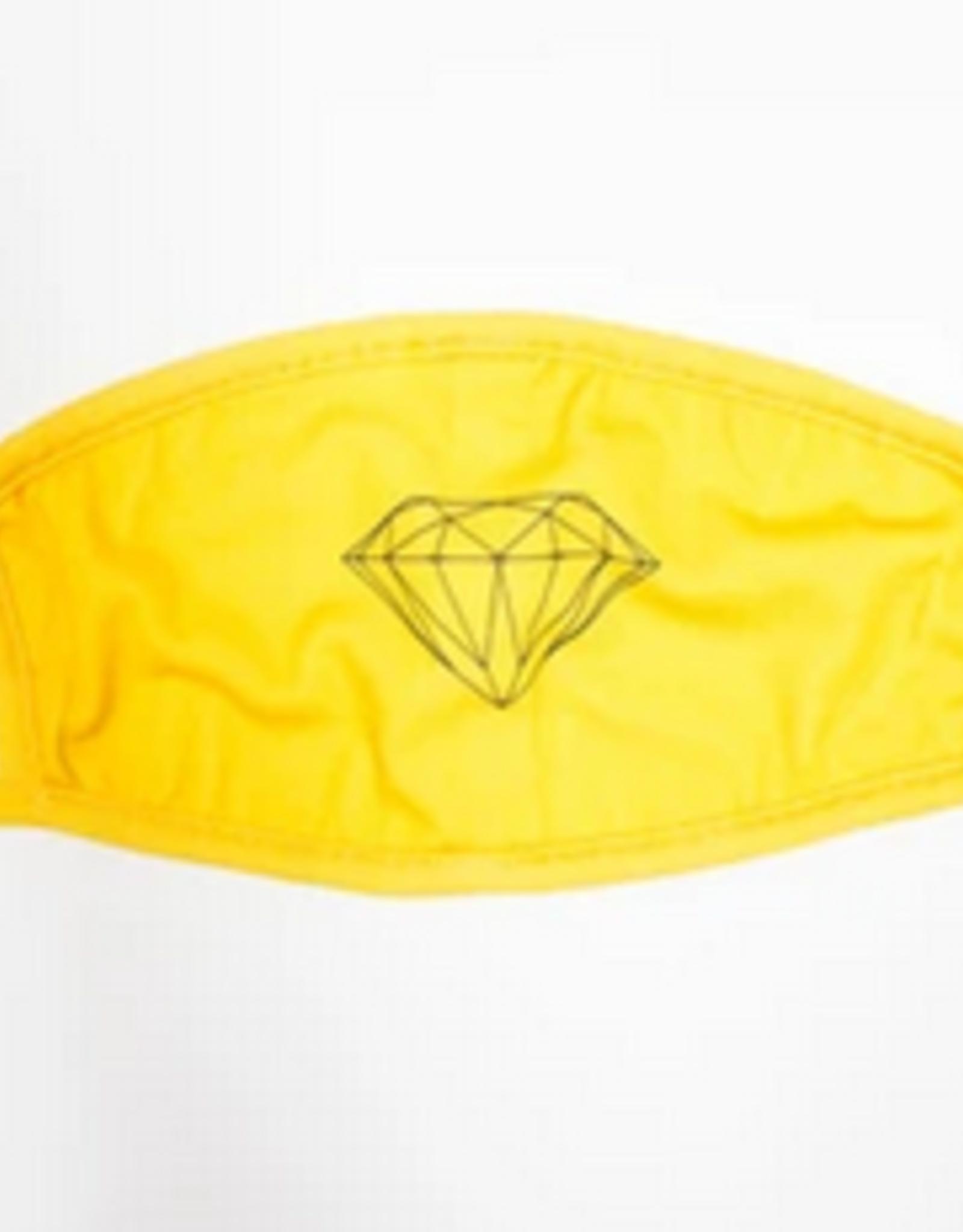 DIAMOND DIAMOND BRILLIANT FACE MASK YELLOW