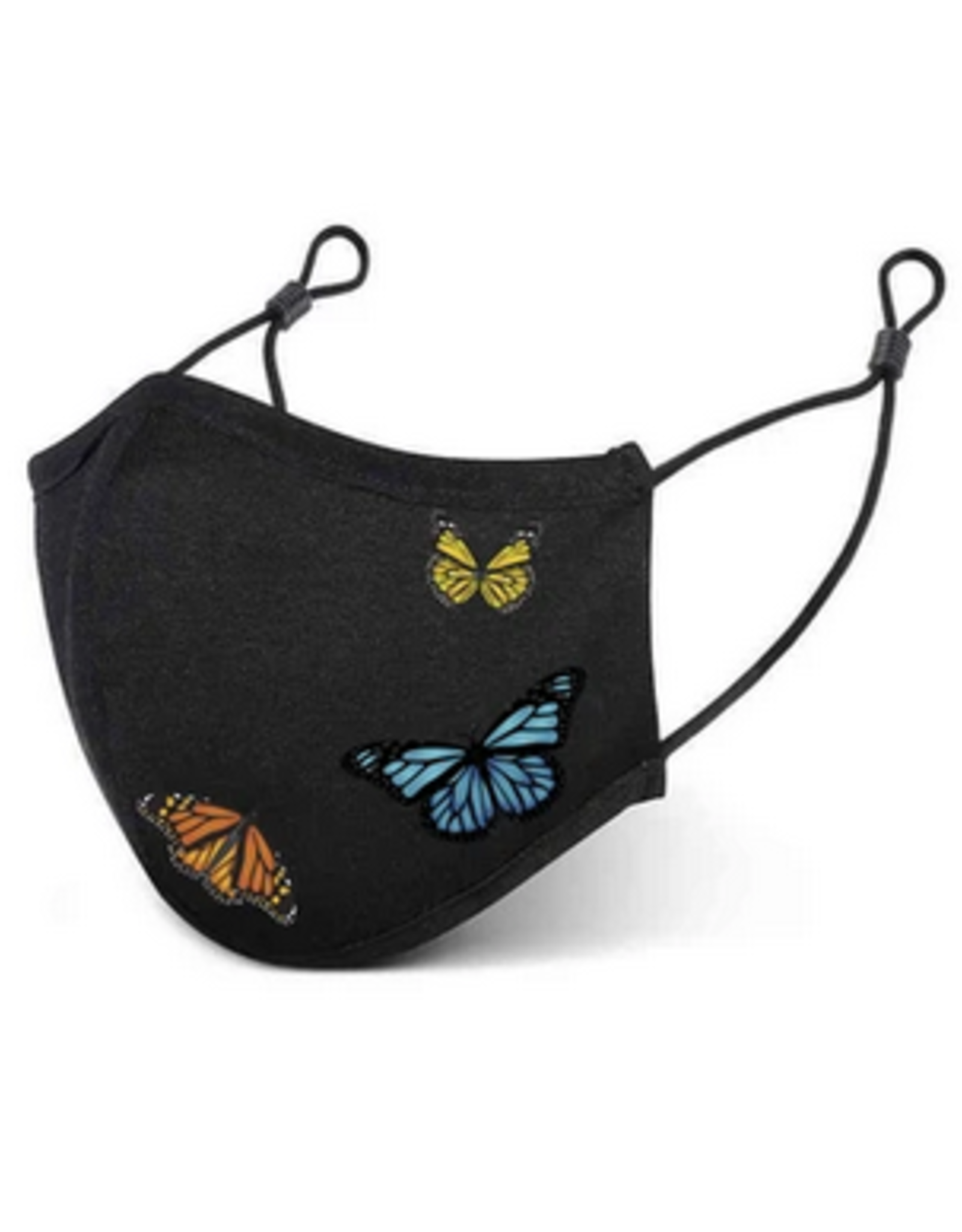 PRIMITIVE PRIMITIVE BUTTERFLY FACE MASK BLACK
