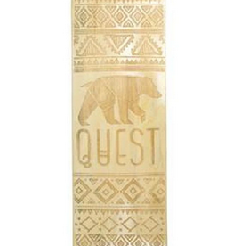 "QUEST QUEST 41"" X 9"" CALIFORNIA NATIVE REPUBLIC DROP DOWN LONGBOARD COMPLETE"