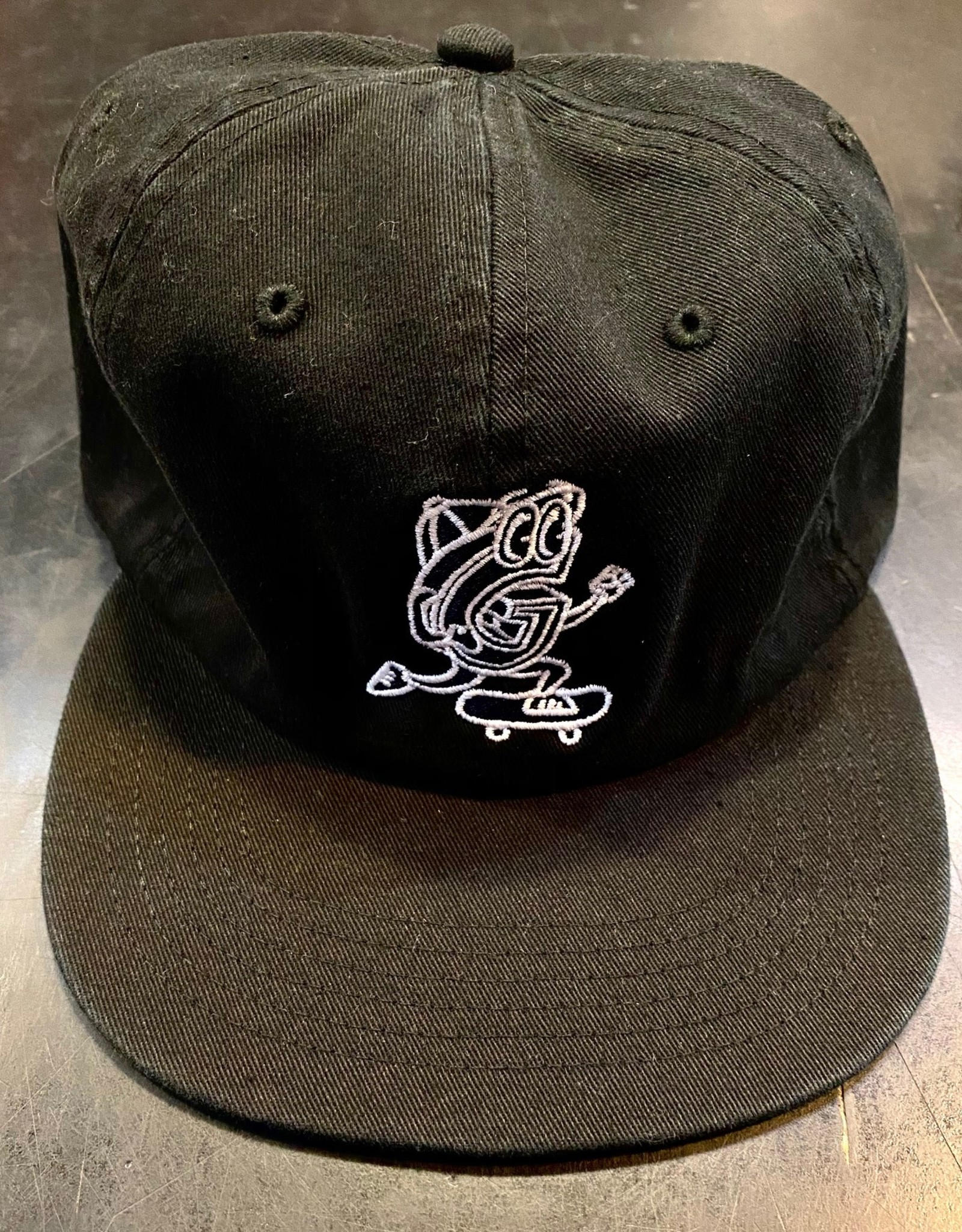 GARDEN GARDEN G-MAN UNSTRUCTURED CLIPBACK HAT BLACK