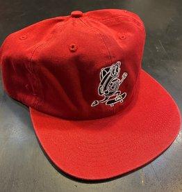 GARDEN GARDEN G-MAN UNSTRUCTURED CLIPBACK HAT RED