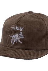 HOCKEY HOCKEY DOG HAT CORDUROY OLIVE