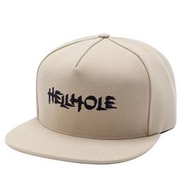HOCKEY HOCKEY HELLHOLE HAT TAN