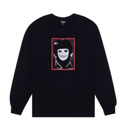 HOCKEY HOCKEY NO FACE L/S TEE BLACK