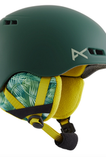 ANON ANON 2021 BURNER KIDS YOUTH HELMET CAMO GREEN