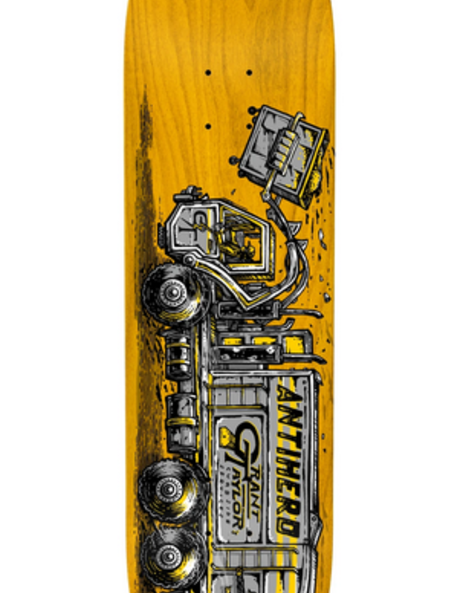 "ANTI-HERO ANTI-HERO 8.25"" GRANT TAYLOR CURBSIDE DECK (GREEN BG STAIN)"