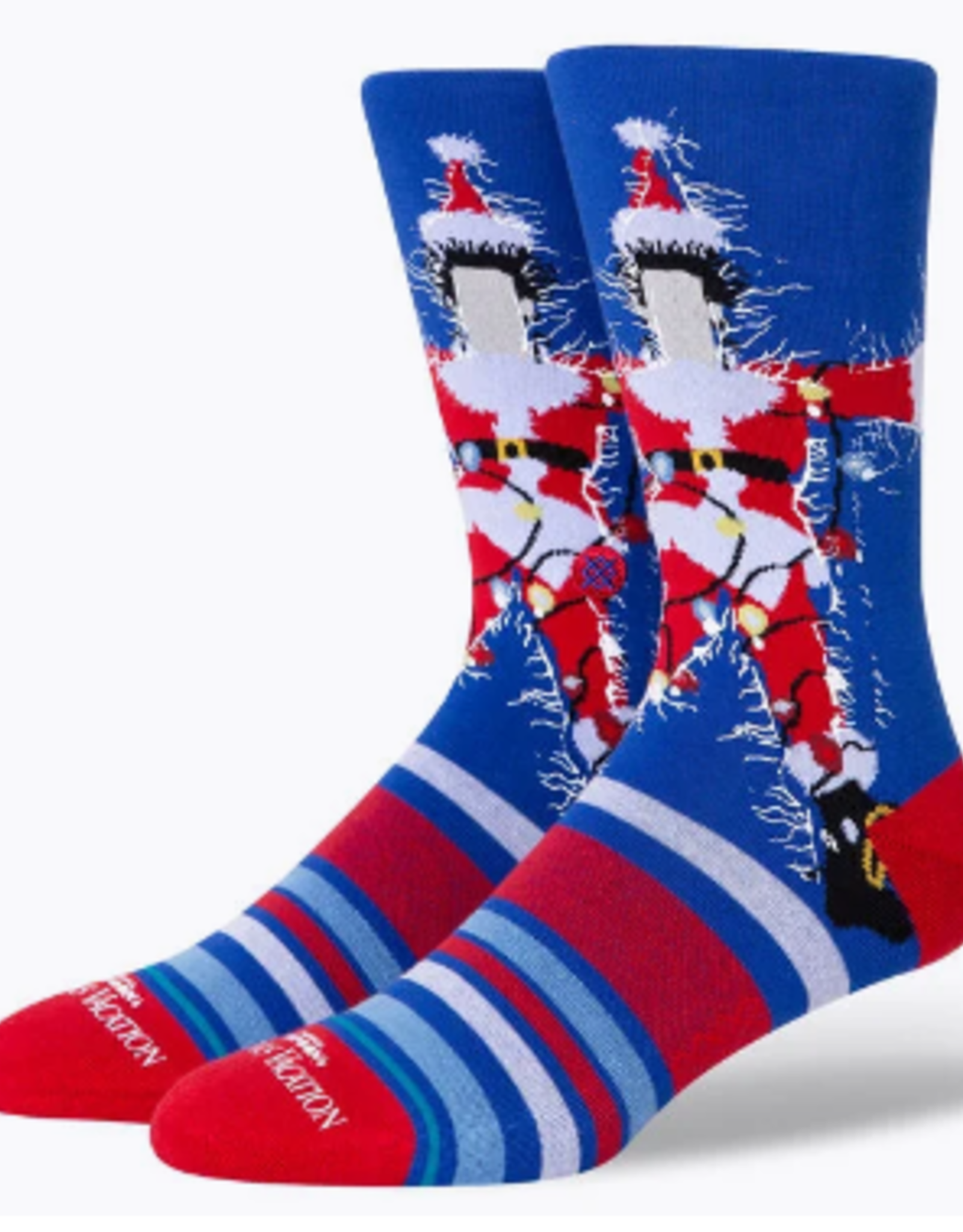 STANCE STANCE COMMON SOCK CHRISTMAS VACATION BLUE LARGE