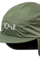 POLAR POLAR FLAP CAP HAT ARMY GREEN