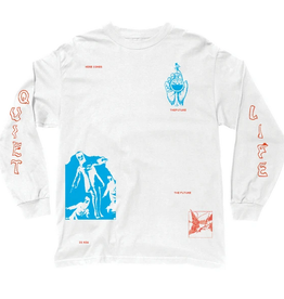 THE QUIET LIFE THE QUIET LIFE TIMES LS TEE WHITE