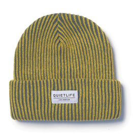 THE QUIET LIFE THE QUIET LIFE VERTICAL BEANIE YELLOW