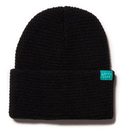 THE QUIET LIFE THE QUIET LIFE WAFFLE BEANIE BLACK