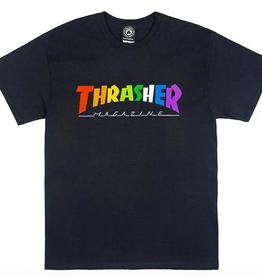 THRASHER THRASHER RAINBOW MAG SS TEE SHIRT