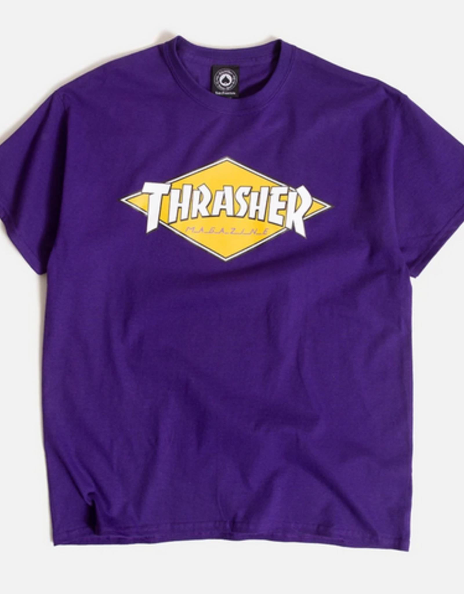 THRASHER THRASHER DIAMOND SS TEE SHIRT