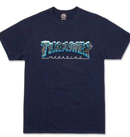 THRASHER THRASHER BLACK ICE SS TEE SHIRT