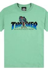 THRASHER THRASHER LEOPARD SS TEE SHIRT