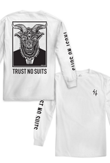 LURKING CLASS LURKING CLASS TRUST NO SUITS LS TEE WHITE