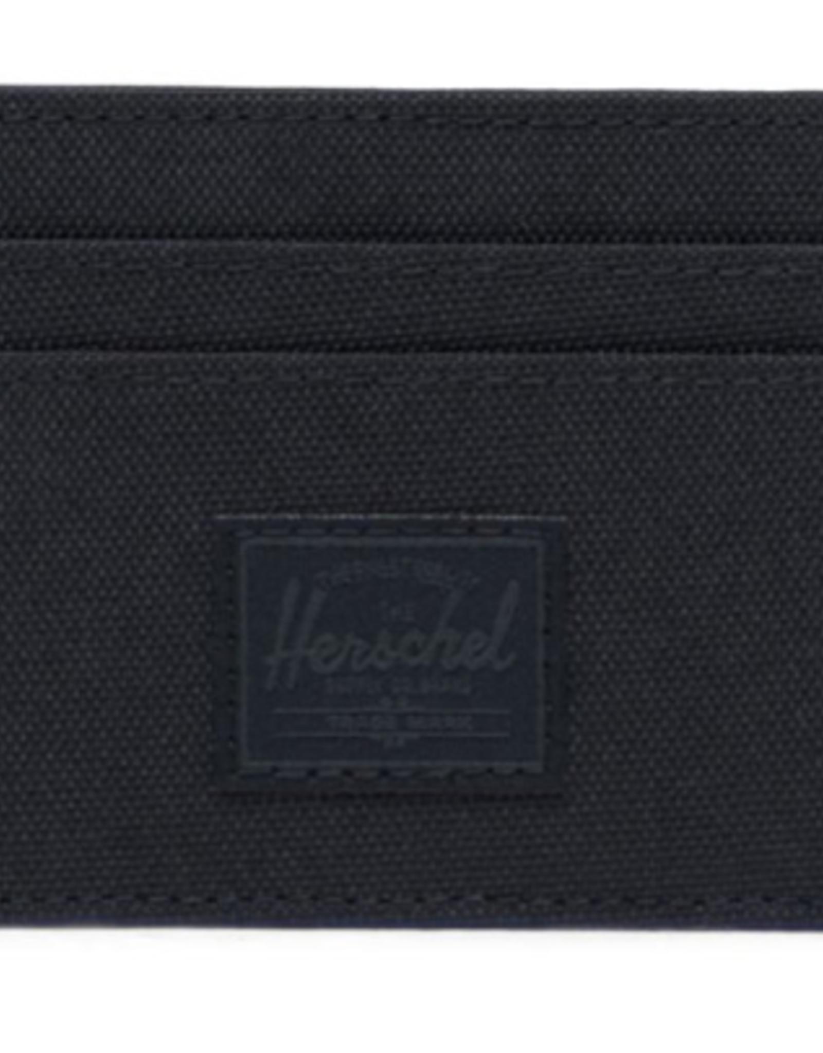HERSCHEL HERSCHEL CHARLIE POLY BLACK WALLET