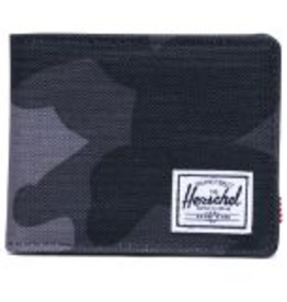 HERSCHEL HERSCHEL ROY 600D POLY NIGHT CAMO COIN WALLET