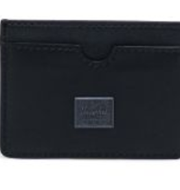 HERSCHEL HERSCHEL CHARLIE LR LEATHER BLACK WALLET