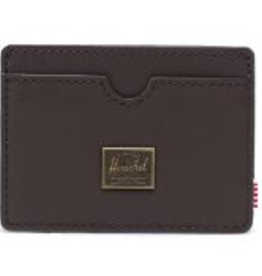 HERSCHEL HERSCHEL CHARLIE LR LEATHER BROWN WALLET