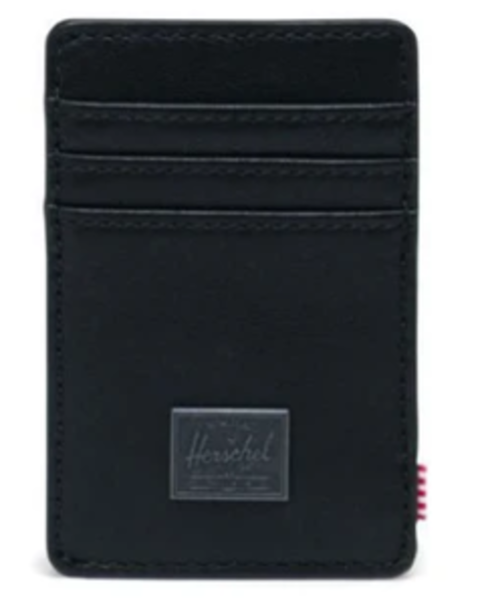 HERSCHEL HERSCHEL RAVEN LEATHER BLACK WALLET