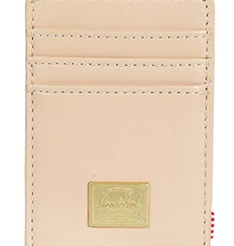 HERSCHEL HERSCHEL RAVEN LEATHER NATURAL WALLET