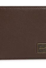 HERSCHEL HERSCHEL HANK LEATHER BROWN WALLET