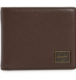HERSCHEL HERSCHEL HANK LEATHER BROWN WALLET