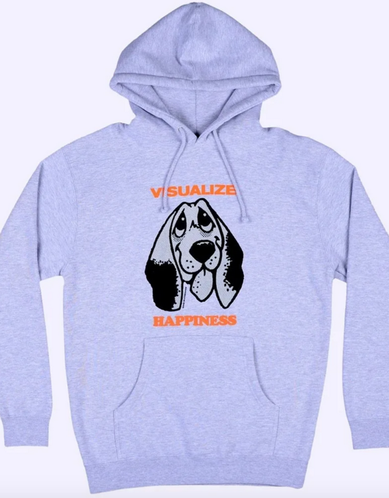 QUASI QUASI VISUALIZE HAPPINESS PO HOODIE GREY