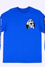 QUASI QUASI VISUALIZE HAPPINESS LS TEE ROYAL BLUE
