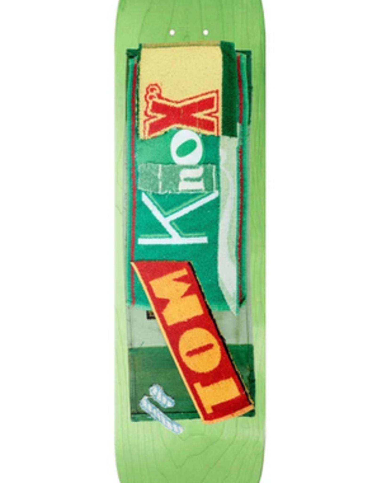 """ISLE ISLE 8.375"""" TOM KNOX PUB SERIES DECK (PURPLE BG STAIN)"""