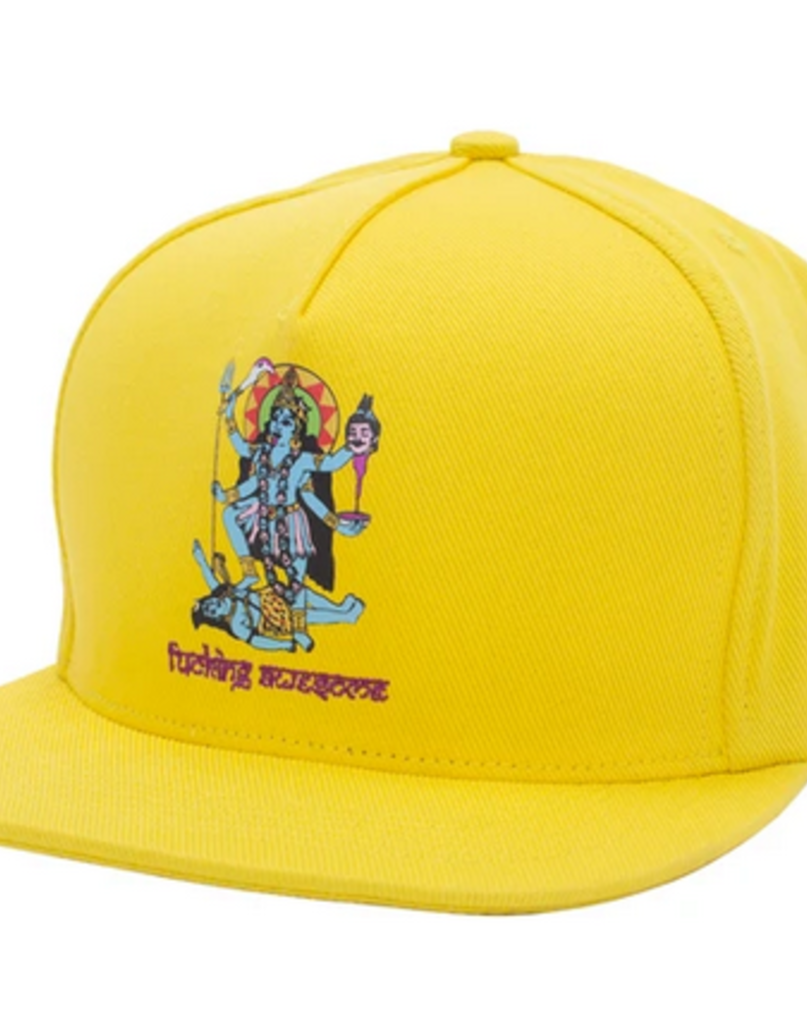 FUCKING AWESOME FUCKING AWESOME FA REDEMPTION SNAPBACK CAP GOLD