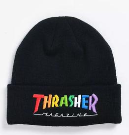 THRASHER THRASHER RAINBOW MAG BEANIE BLACK