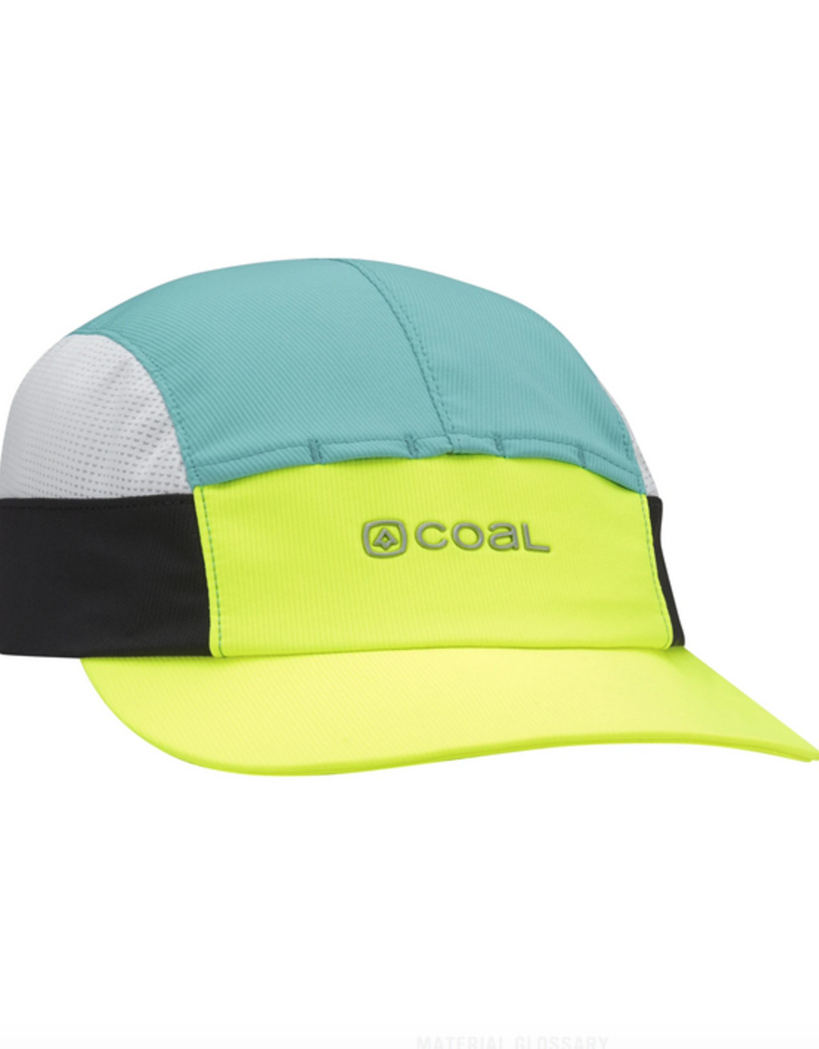 COAL COAL DEEP RIVER CLIPBACK HAT YELLOW