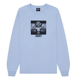 HOCKEY HOCKEY CRIPPLING L/S TEE SHIRT LIGHT BLUE